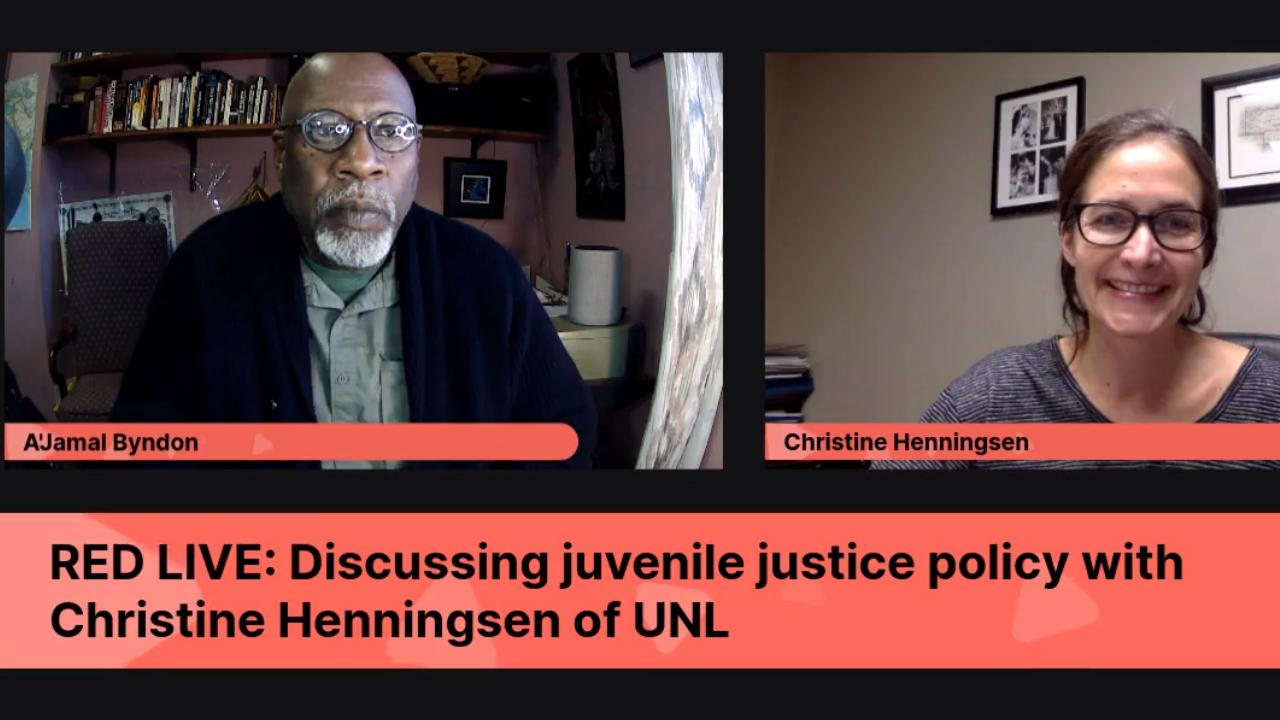 Christine Henningsen and A'Jamal Byndon